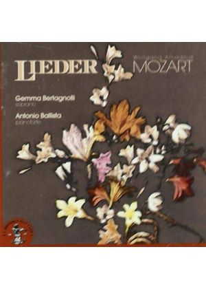 Mozart: Lieder (Music CD)