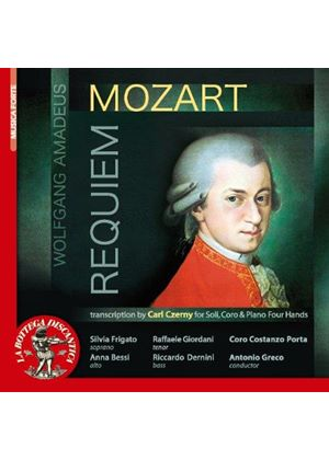 Mozart: Requiem (transcribed by Carl Czerny) (Music CD)