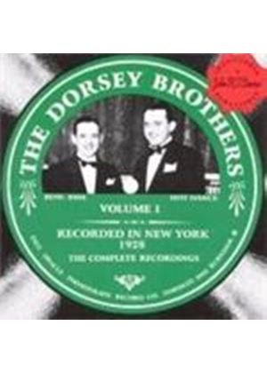 Dorsey Brothers (The) - Recorded In New York Vol.1 1928 (Music CD)