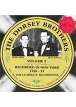 Dorsey Brothers (The) - Recorded In New York Vol.3 1930-1933 (Music CD)