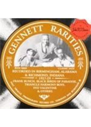 Various Artists - Gennett Rarities (Music CD)