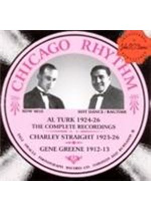 Al Turk & Charlie Straight - Complete Recordings 1924-1926, The (Chicago Rhythm/Hot Dance And Ragtime) (Music CD)