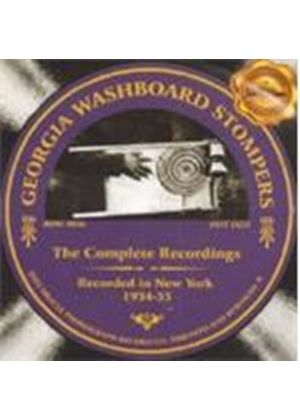 Georgia Washboard Stompers - Complete Recordings 1934-1935, The (Music CD)