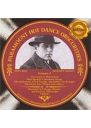 Various Artists - Paramount Hot Dance Obscurities Vol.2 (1928-32) (Music CD)