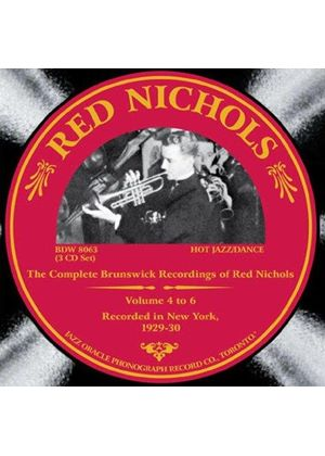 Red Nichols - Complete Brunswick Sessions, Vols. 4-6 (Music CD)