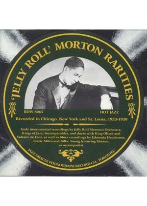 Jelly Roll Morton - Rarities (The Rare Band and Blues Sides/Remastered) (Music CD)