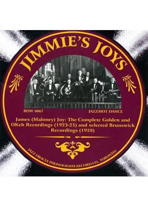 Jimmie Joy - Jimmie's Joys (The Complete Golden and OKeh Recordings 1923-1925) (Music CD)