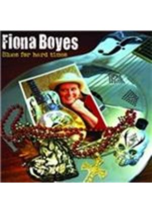 Fiona Boyes - Blues for Hard Times (Music CD)