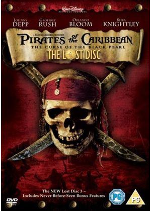 Pirates Of The Caribbean - The Curse Of The Black Pearl (The Lost Disc) (3 Discs)