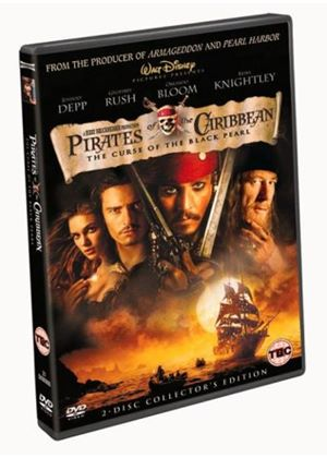 Pirates of the Caribbean - The Curse Of The Black Pearl (2 Disc)