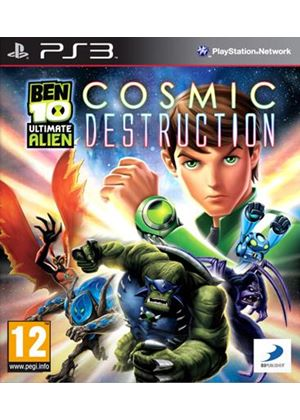 Ben 10 - Ultimate Alien: Cosmic Destruction (PS3)