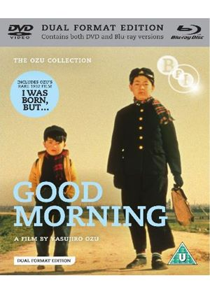 Good Morning / I Was Born But... (Blu-ray + DVD)