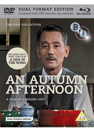 An Autumn Afternoon / A Hen In The Wind (Blu Ray and DVD)