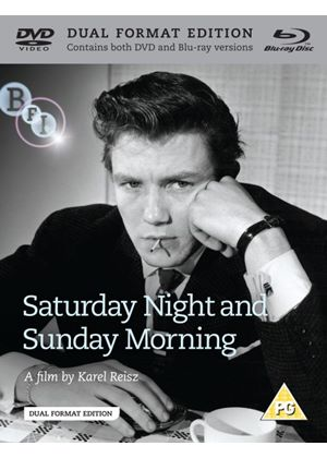 Saturday Night and Sunday Morning - Dual Format (Blu-Ray & DVD)
