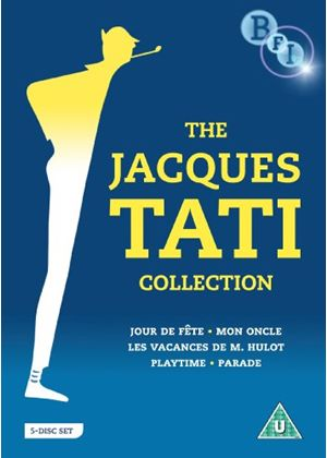 The Jacques Tati Collection - Jour de fete / Les Vacances de M. Hulot / Mon Oncle / Playtime / Parade