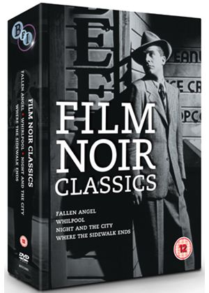 Film Noir Classics - Fallen Angel / Whirlpool / Night and the City / Where the Sidewalk Ends