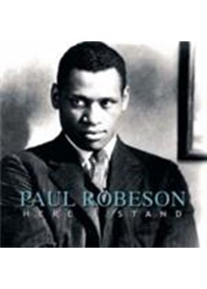 Paul Robeson - Here I Stand (Music CD)