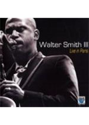 Walter Smith III - Live In Paris (Music CD)