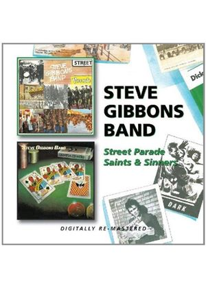 Steve Gibbons - Street Parade/Saints & Sinners (Music CD)