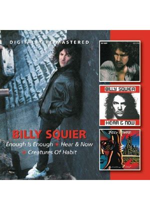 Billy Squier - Enough is Enough/Hear & Now (Music CD)