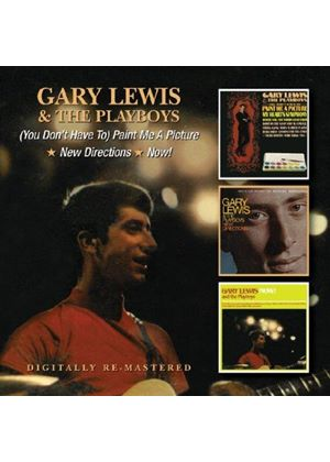 Gary Lewis - (You Don't Have To) Paint Me a Picture/New Directions/Now! (Music CD)