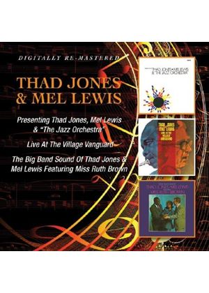 Thad Jones - Presenting/Live at the Village Vanguard/The Big Band Sound (Music CD)