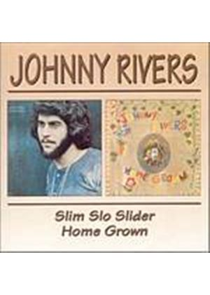 Johnny Rivers - Slim Slo Slider/Home Grown (Music CD)