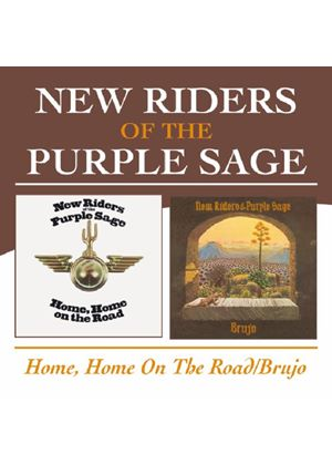 New Riders Of The Purple Sage - Home, Home On The Road/Brujo (Music CD)