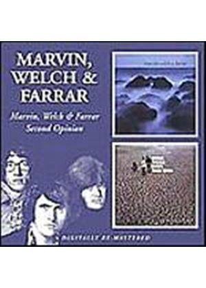 Marvin, Welch And Farrar - Marvin, Welch And Farrar/Second Opinion (Music CD)
