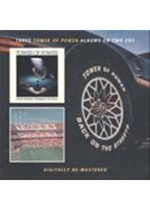Tower Of Power - Ain't Nothin' Stoppin' Us Now/We Came To Play/Back On The Streets (Music CD)