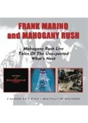 Frank Marino & Mahogany Rush - Live/Tales Of The Unexpected/What's Next (Music CD)