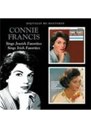 Connie Francis - Sings Jewish Favorites/Sings Irish Favorites (Music CD)