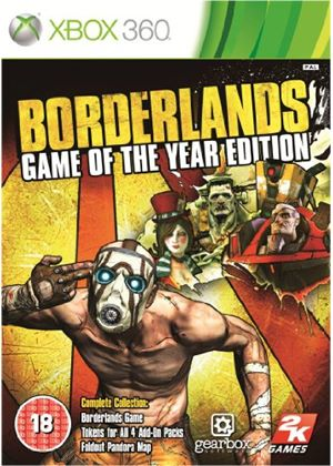 Borderlands: Game of the Year Edition - Classics (Xbox 360)