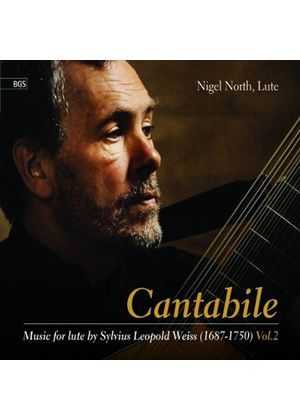 Cantabile: Music for Lute (Music CD)
