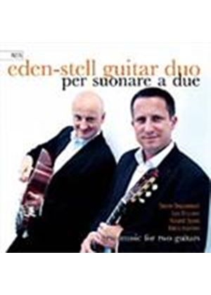 Eden-Stell Guitar Duo - Works for two guitars (Music CD)