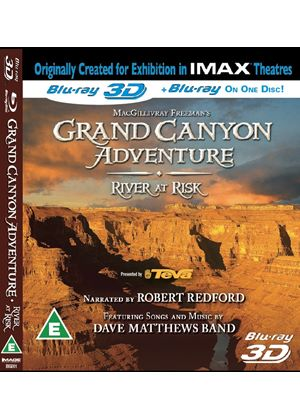 Grand Canyon Adventure - River At Risk (IMAX Blu-ray 3D)