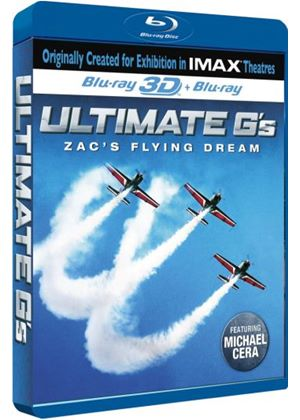 Ultimate G's 3D-Zac's Flying Dream (IMAX Blu-ray 3D)