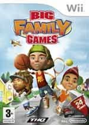 Big Family Games (Wii)