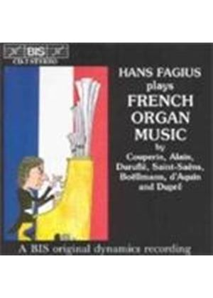 VARIOUS COMPOSERS - French Organ Music (Fagius)