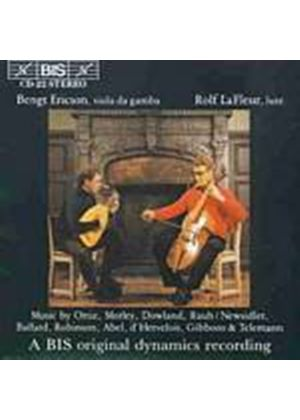 Various Composers - Music For Lute (Lafleur, Ericson) (Music CD)