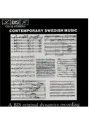 VARIOUS COMPOSERS - Contemporary Swedish Music