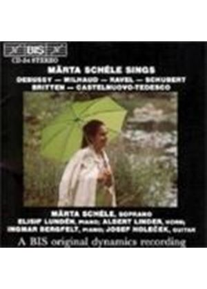 VARIOUS COMPOSERS - Marta Schele Sings
