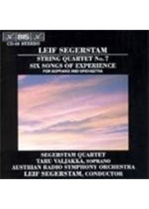 Segerstam: Six Songs of Experience;String Quartet No 7