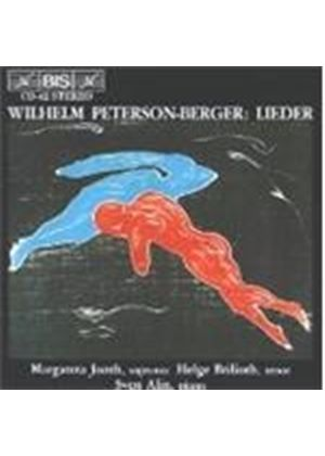 Wilhelm Peterson-Berger - Lieder (Jonth, Brilioth, Alin)