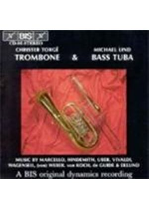 VARIOUS COMPOSERS - Trombone And Bass Tuba (Nilson, Torge, Lind)