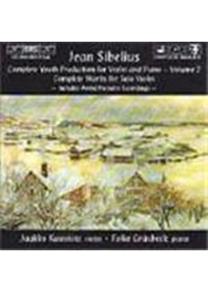 Sibelius: Complete Youth Production for Violin & Piano, Volume 2