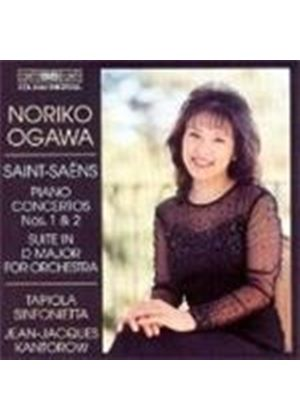 Saint-Saëns: Concertos for Piano and Orchestra Nos. 1 & 2; Suite in D