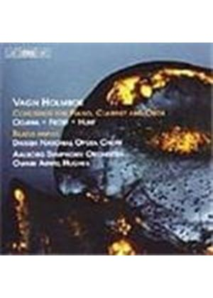 Holmboe: Concertos for Piano, Clarinet and Oboe
