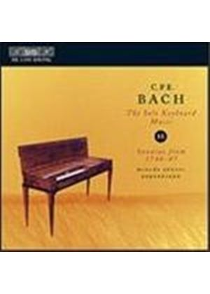 Bach, CPE: Solo Keyboard Music, Vol 11