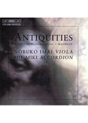 Machaut/Bach/Isaac/Dowland - Antiquities (Imai, Miki) (Music CD)